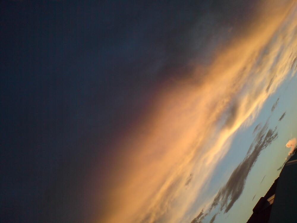 night sky by Richard  Durocher