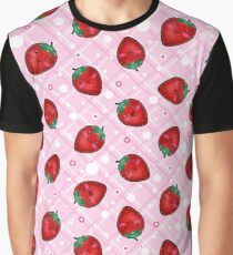 Chibi Strawberries Graphic T-Shirt