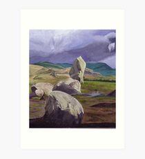 Castlerigg Art Print