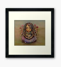 tiny and isabella  Framed Print