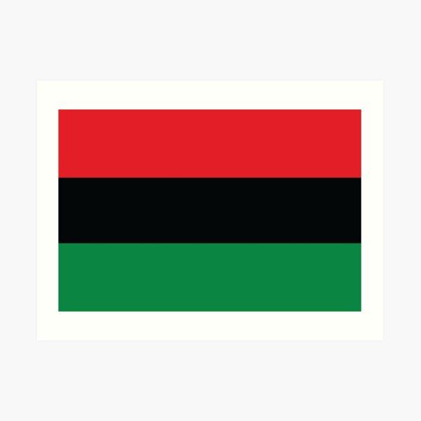 Black Liberation Flag Art Print