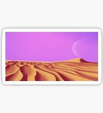 DESERT LANDSCAPE Sticker