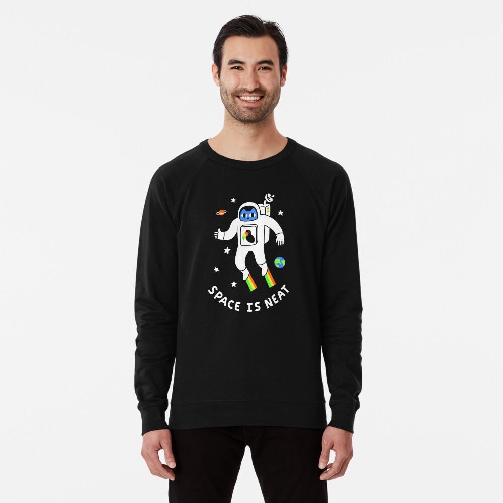 Space Is Neat Lightweight Sweatshirt