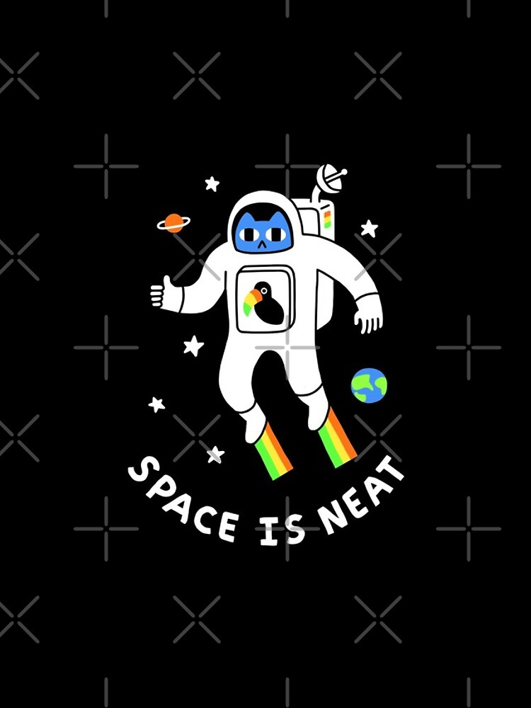 Space Is Neat by obinsun