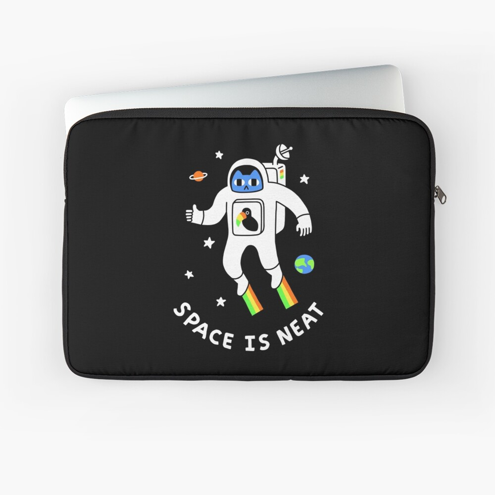 Space Is Neat Laptop Sleeve