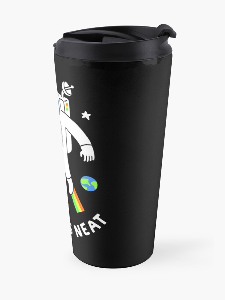 Alternate view of Space Is Neat Travel Mug