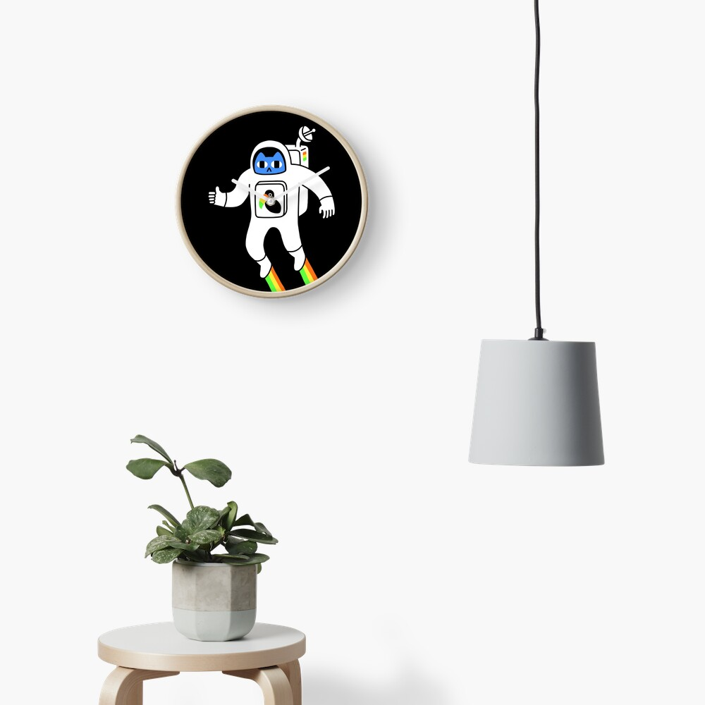 Space Is Neat Clock