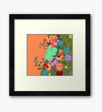 The Green Lady Framed Print