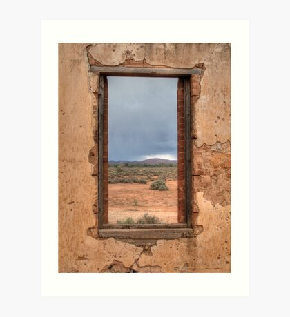 Window to the Outback Art Print