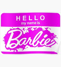 Barbie Logo Poster