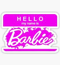 Barbie Logo Sticker