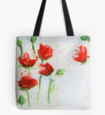 The Poppies Tote Bag
