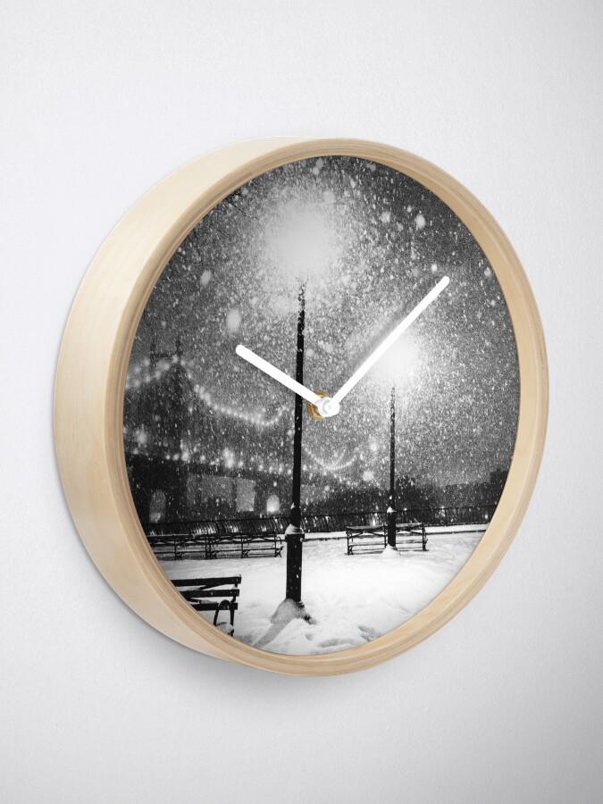 Alternate view of New York City Snow Clock