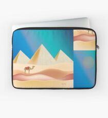 Cairo, Egypt - Skyline Illustration by Loose Petals Laptop Sleeve