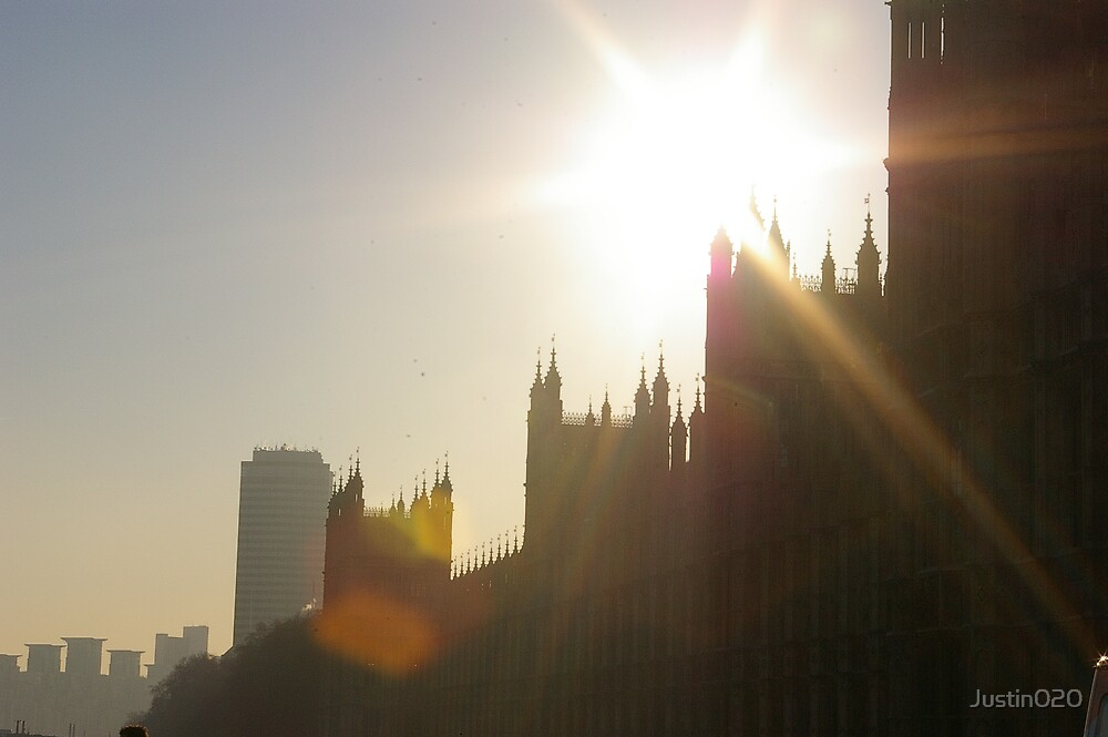 Houses of Parliament by Justin020