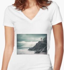 Freedom Women's Fitted V-Neck T-Shirt
