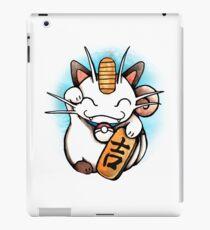 Maneki-Meowth iPad Case/Skin