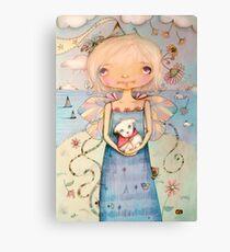 Mary's Little Lamb Canvas Print