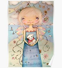 Mary's Little Lamb Poster