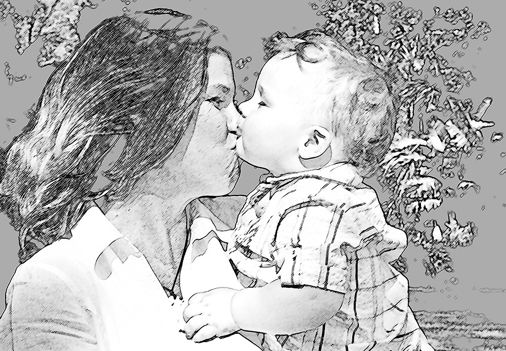 The Kiss by JaneH