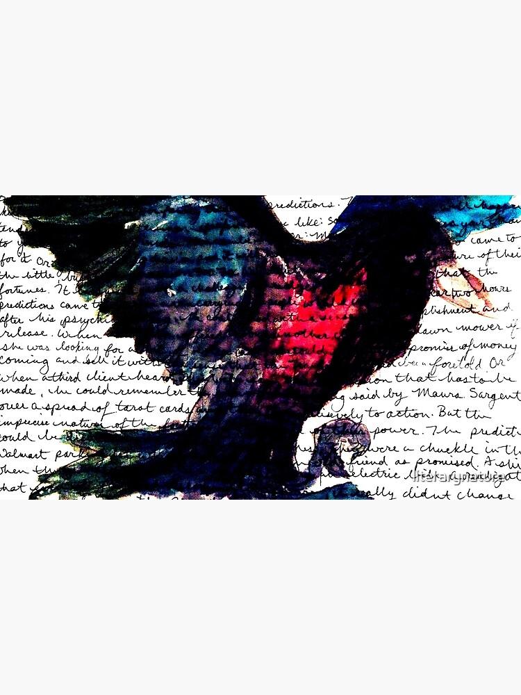 Watercolor Raven | Canvas Print