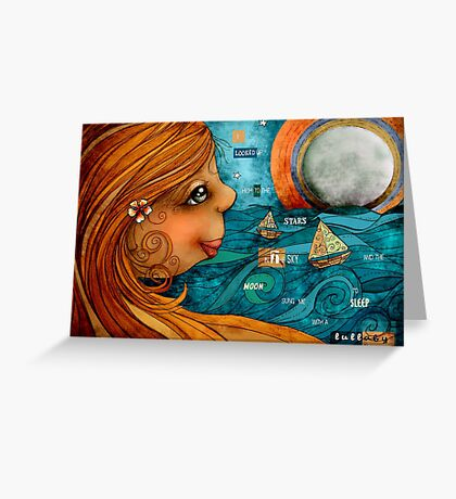 Moonlight Lullaby Greeting Card