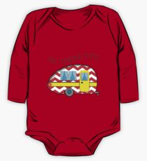 RV There Yet? Campers Road Trip RV Art Print One Piece - Long Sleeve