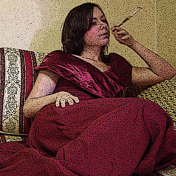 Smoking Girl by fragiledesign