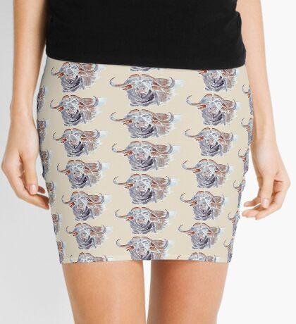 African buffalo or Cape buffalo (Syncerus caffer) Mini Skirt