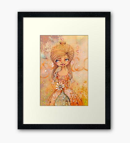 birthday girl Framed Print