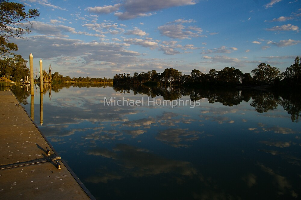The Murray River; Berri, South Australia by Michael Humphrys