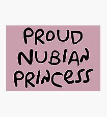 Proud Nubian Princess Photographic Print