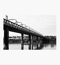 First Bridge Built; Murray Bridge, South Australia Photographic Print