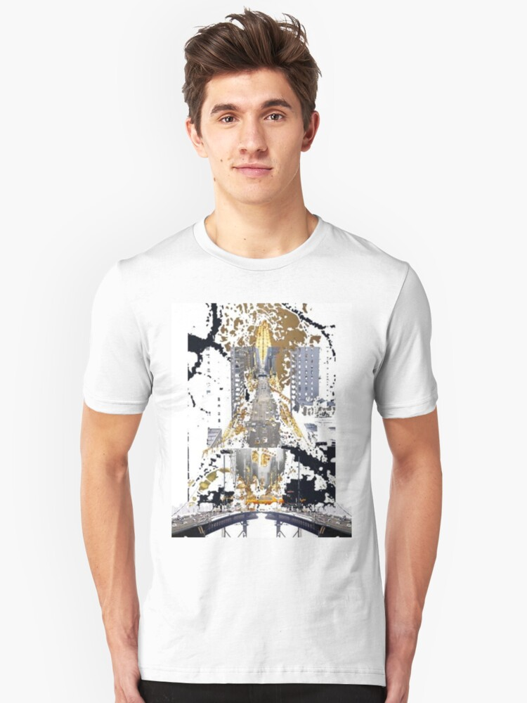 From Paris to New York Unisex T-Shirt Front