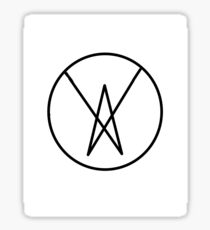 Outsiders Design Classic Logo Sticker