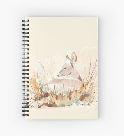 Survival in the African Bush Spiral Notebook