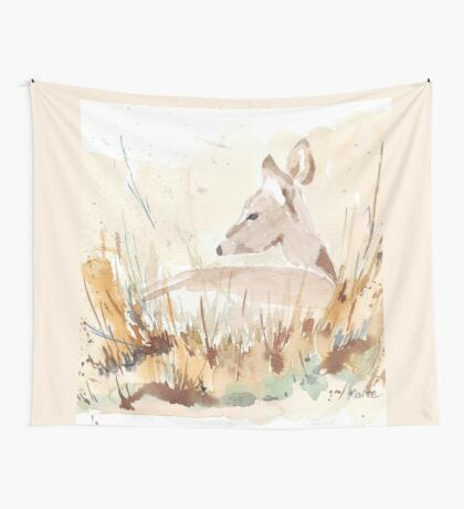 Survival in the African Bush Wall Tapestry