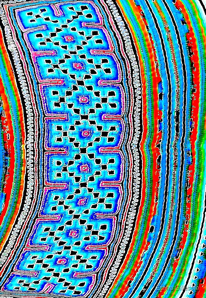 Hill Tribe Textile 2 by Ethna Gillespie