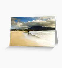 Beach Donegal Greeting Card