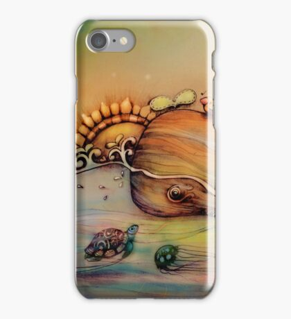 Whale song iPhone Case/Skin