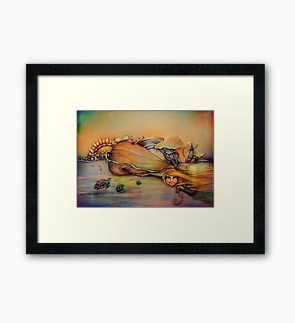 Whale song Framed Print