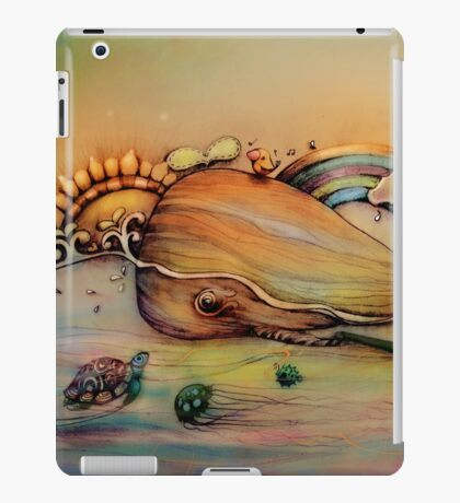 Whale song iPad Case/Skin