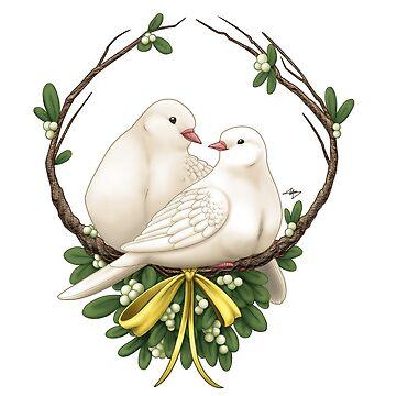 Turtle Dove Christmas by usmcbride