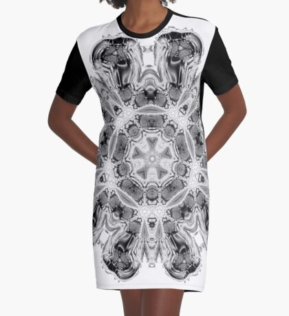 Amoeba 5 Graphic T-Shirt Dress