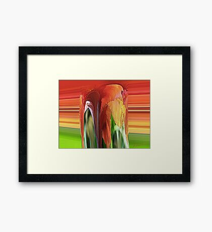 Mound of Color Framed Print
