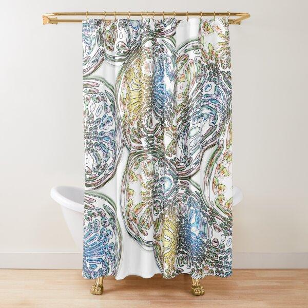 Phantoms 16 Shower Curtain