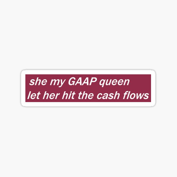 GAAP Queen Sticker