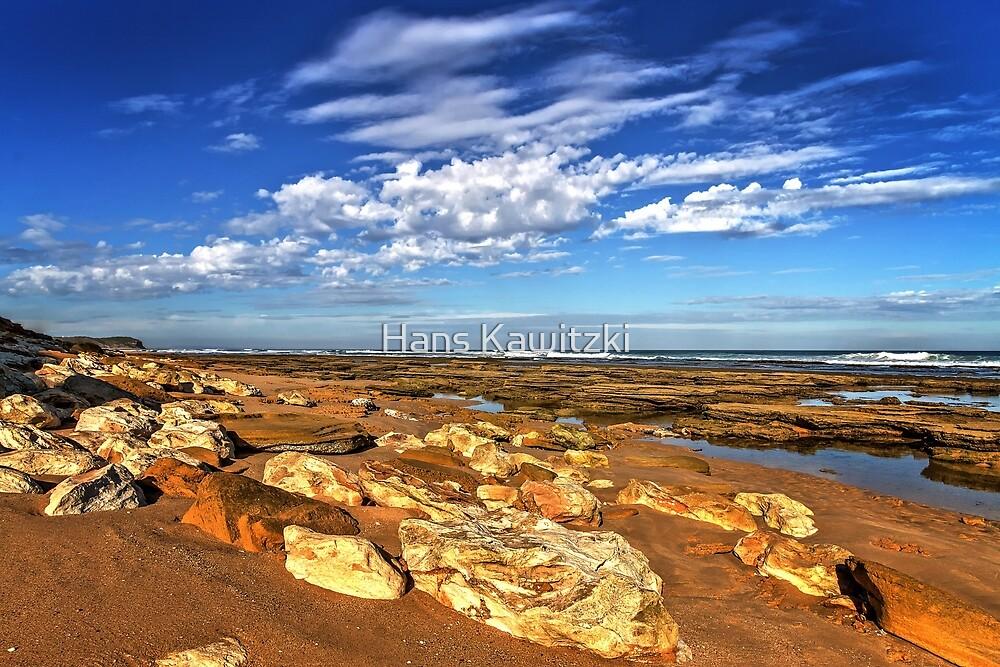 0058 Low tide - 13th Beach by Hans Kawitzki