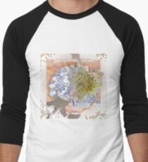 Baby's Breath Men's Baseball ¾ T-Shirt