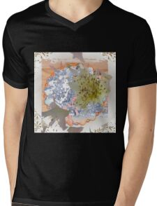 Baby's Breath Mens V-Neck T-Shirt